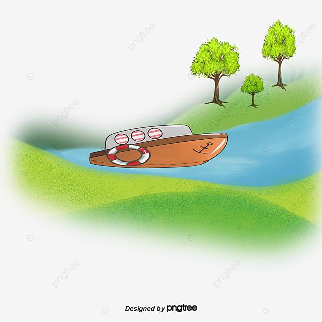 0da7a814a78ac كريك قوارب مائية المناظر الطبيعية منظر اللوحة من ناحية رسم منظر طبيعي PNG و  PSD