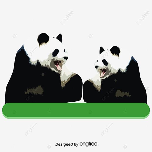Animales Geométricos La Geometría Animal Panda Png Y Vector Para