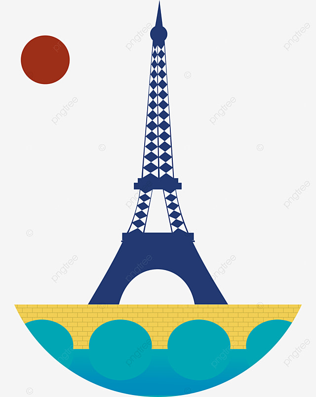 Eiffel Tower Cartoon Eiffel Tower Line Drawing Tower