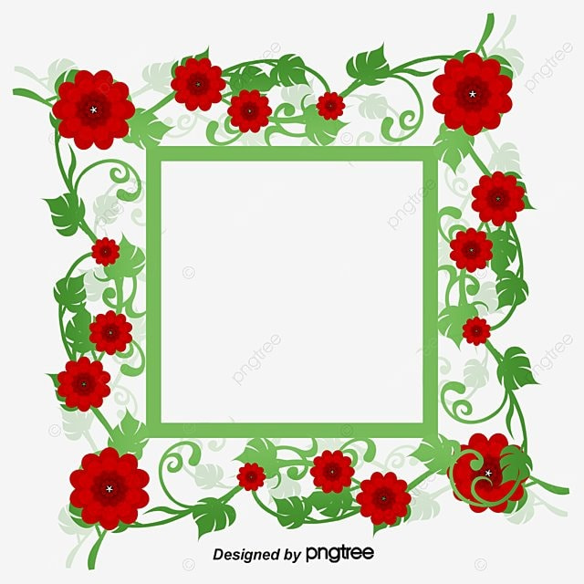 Vector de flor., Material De Vetor De Flores Moldura Convite, Rosa, Cartão De Convite De ...