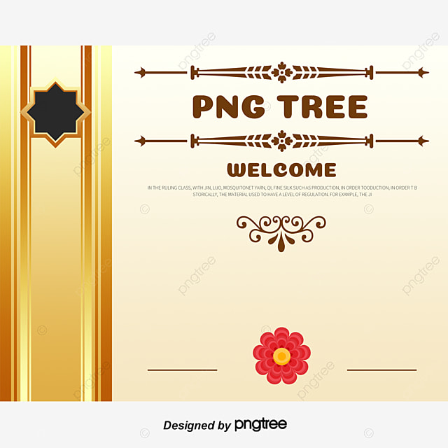 continental coupon creative design templates coupon certificate pattern border png and vector - Certificate Border Design Templates