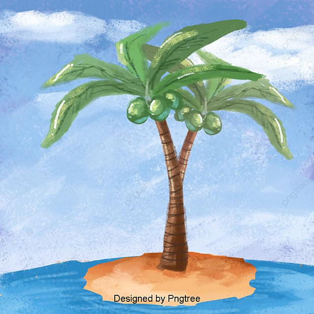 dessin de noix de coco sans creuser de mat u00e9riau dessin