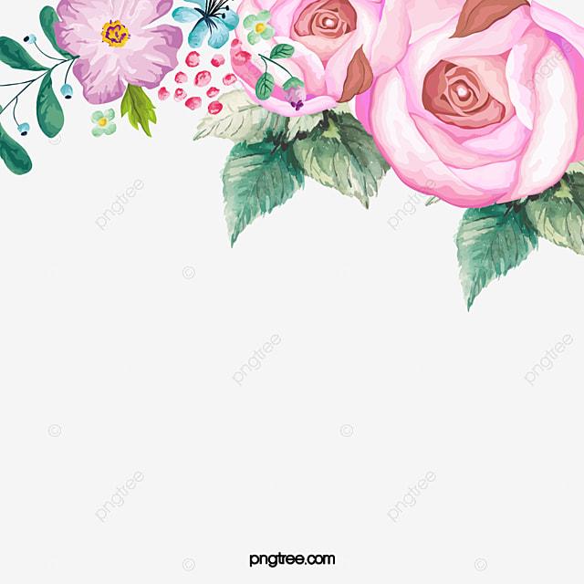 手描き花 手描き 花 イラスト Pngとpsdファイルの無料ダウンロード