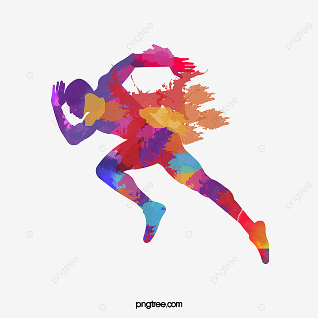 marathon running color material  running vector  color vector borders corners vector borders corners