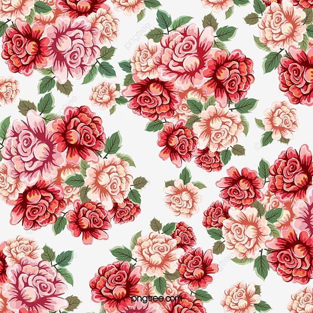 Disenos De Rosas Rojas Y Blancas Impresion Digital Disenos De - Diseos-de-rosas