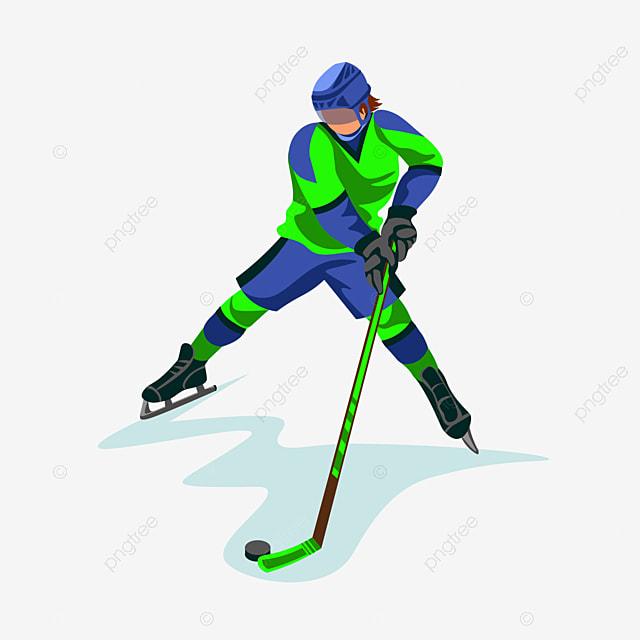 Hockey player logo png