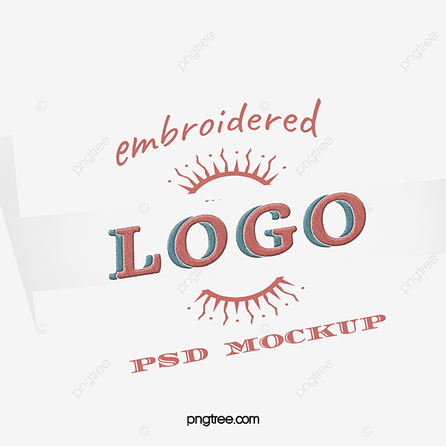 Embroidery Logo Effects Design Logo Effects Design Embroidered