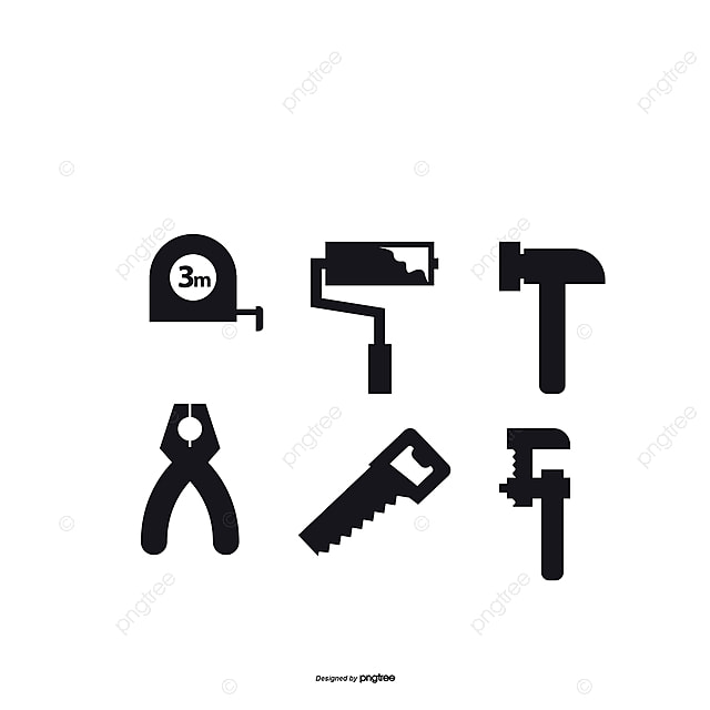 Vector Illustration Woodworking Tools Tools Vector Woodworking