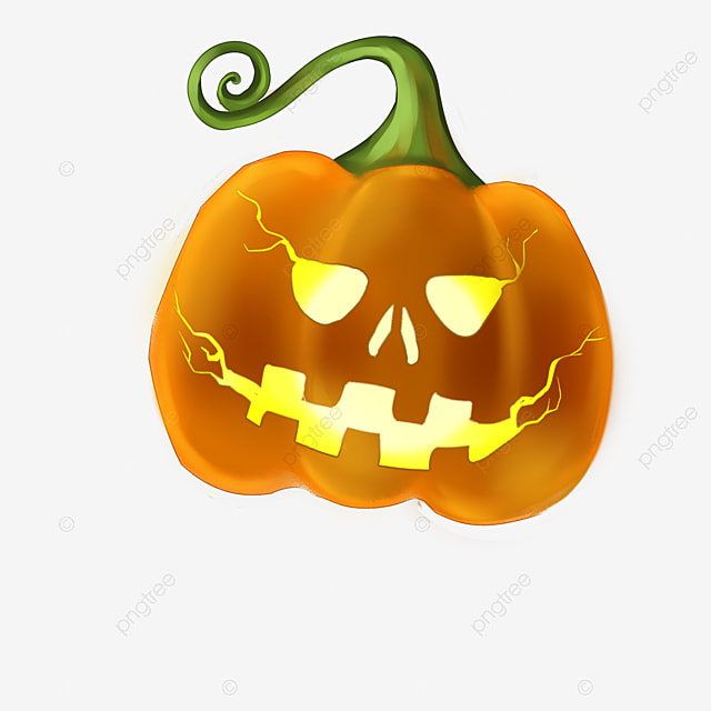 burning pumpkin  halloween  evil pumpkin  evil png image