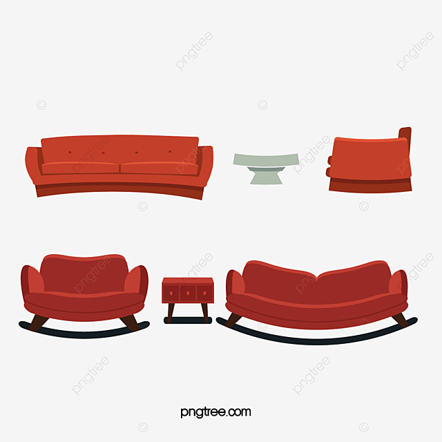 Vector Sofa Sofa Vector Furniture Png And Vector For Free Download