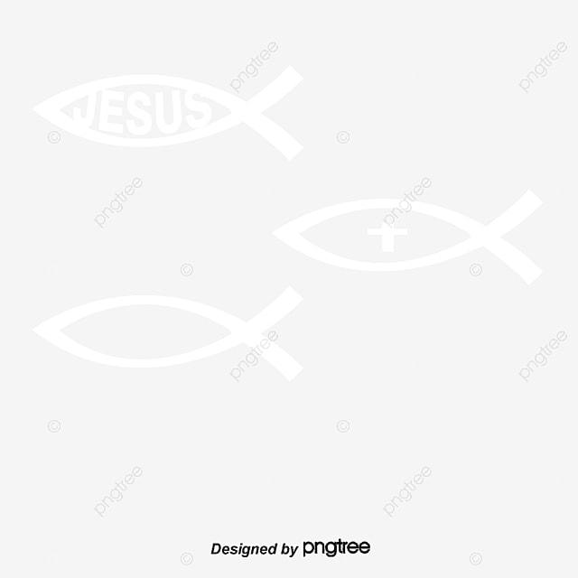 vector ilustra u00e7 u00e3o de um peixe s u00edmbolo do cristianismo