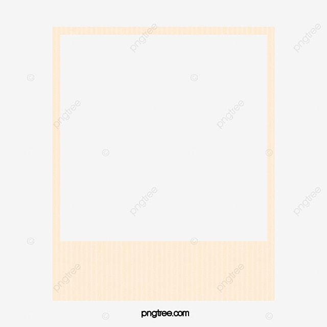 Polaroid Film Frame, Frame Clipart, Simple Border, Polaroid Border ...