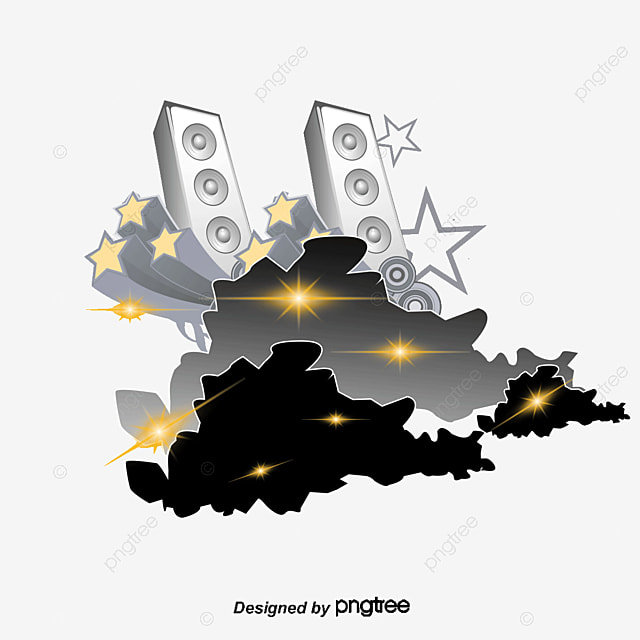 speaker star vector png and vector for free download