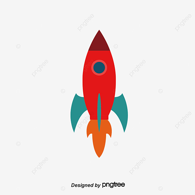 red spaceship space ship cartoon spacecraft png and vector for rh pngtree com spaceship vector images spaceship vector free