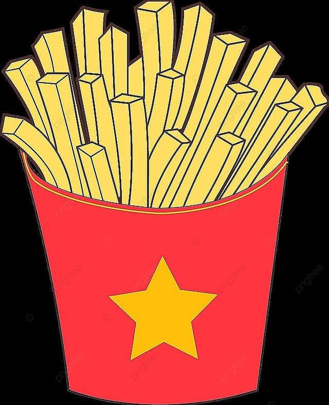 des frites esth u00e9tique des frites fast food png et vecteur