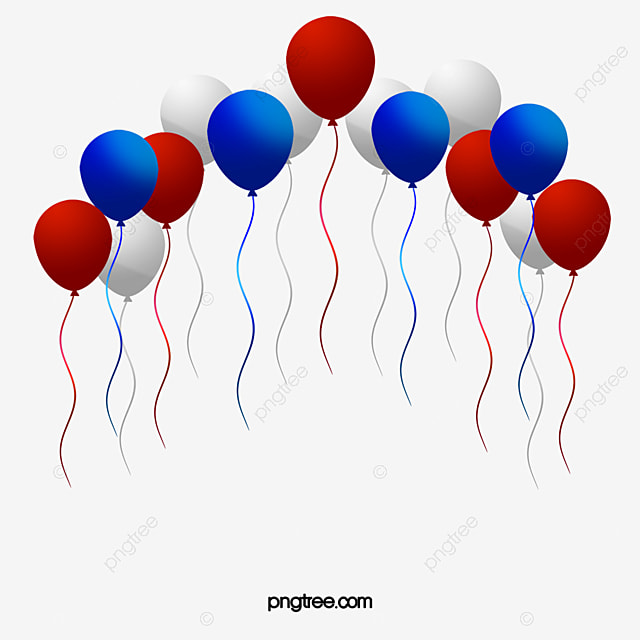 c5c94ef7172 American Red White And Blue Balloons