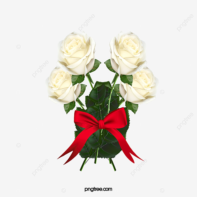 A Bouquet Of Red And White Roses Red Rose White Rose Flowers Png
