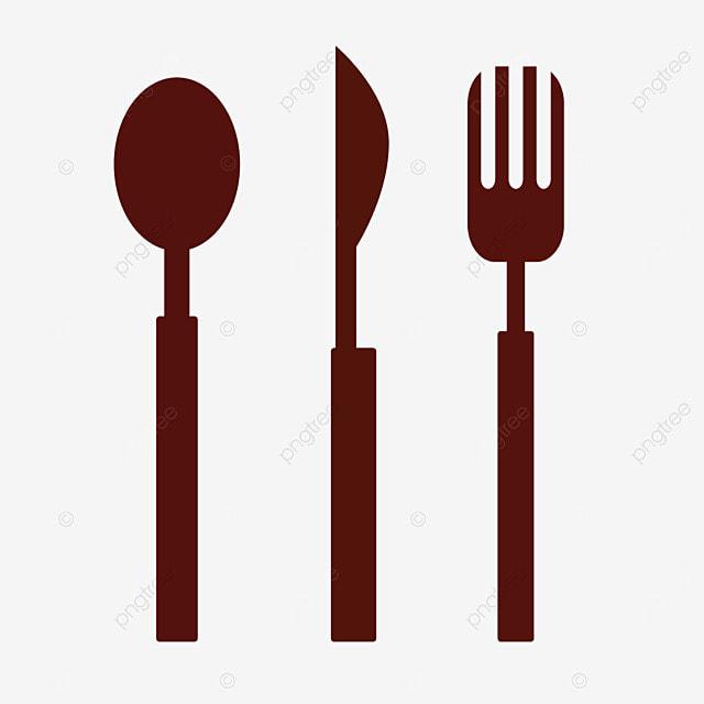 Cartoon Tableware Fork Knife PNG Image