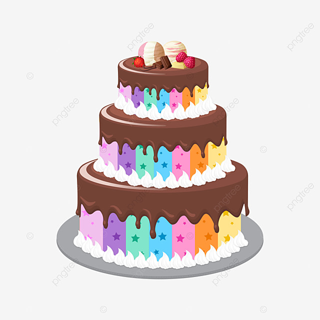 Happy Birthday Clipart Cake PNG Image And