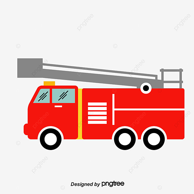 vector cartoon fire truck  119  hand drawn fire engine firefighter clip art free firefighter clip art royalty free
