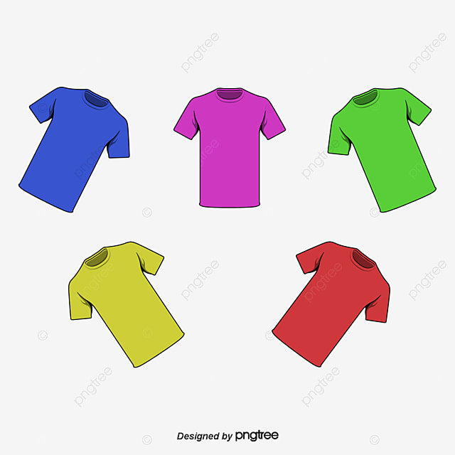 summer t shirt template summer t shirt multicolor png and psd - T Shirt Template Psd Free Download
