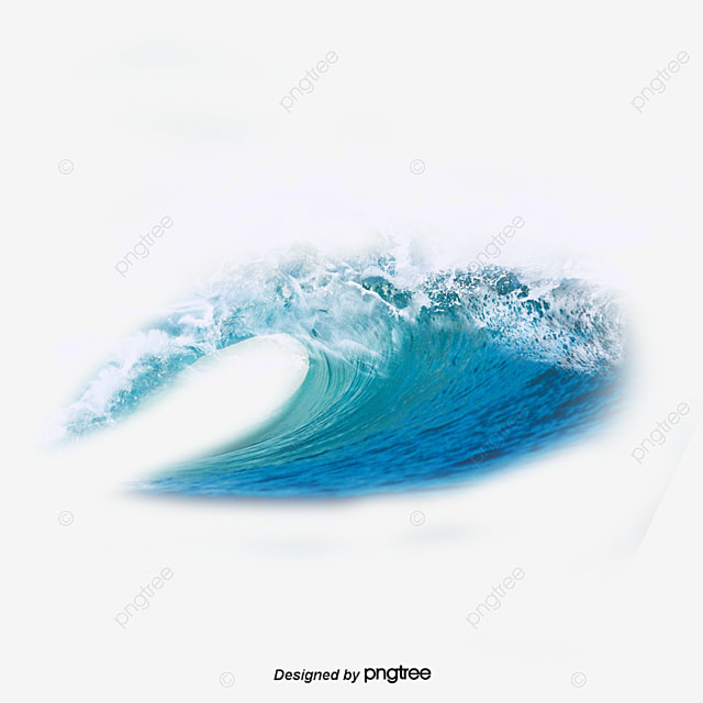 blue wave blue ocean waves png image and clipart for free download rh pngtree com clip art waves water clip art waves crashing