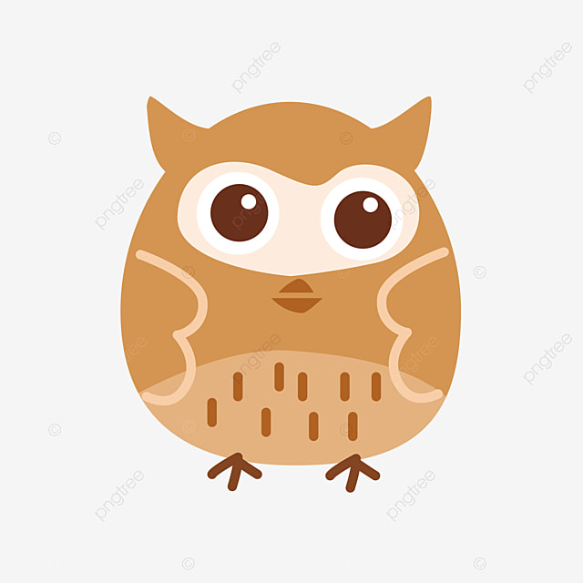 Dibujos Animados Búho Pintado De Rosa Con Lazo Owl Animal Pintado A