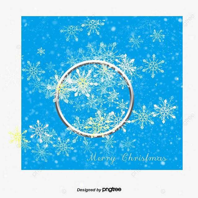 beautiful snowflake christmas decoration elements round frame snowflake vector christmas vector decoration vector