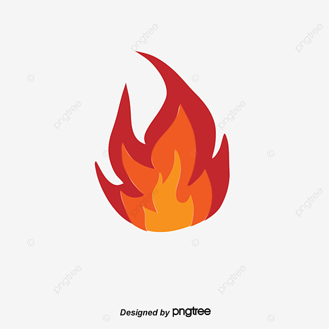 Vector Flame Lion, Fire Lion, Vector, Hand Painted PNG and