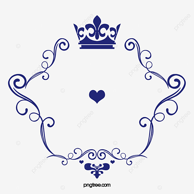 crown pattern vector love logo love clipart logo clipart