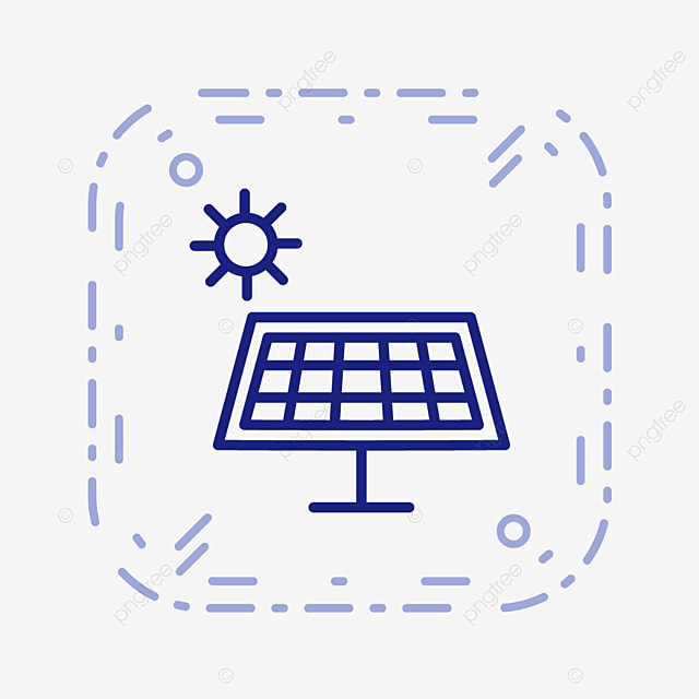 staff solar installation, yellow, solar panels, energy png image, Powerpoint templates