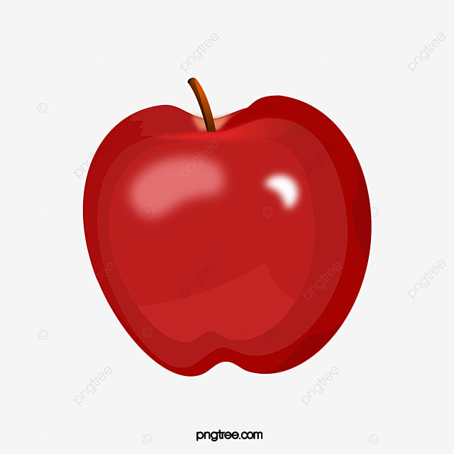 red apple kind red apple fruit christmas eve png image and clipart - Christmas Apple Commercial