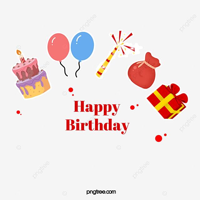 Happy Birthday Decorative Pattern Birthday Clipart Birthday