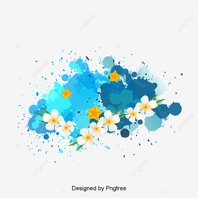 Watercolor Flowers Png Vector Psd And Clipart With: Watercolor Flowers, Watercolor, Flowers, Art PNG