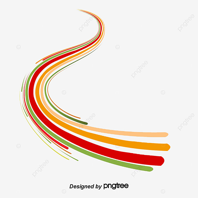 Vector Drawing Lines Html : Abstract lines vector material line png