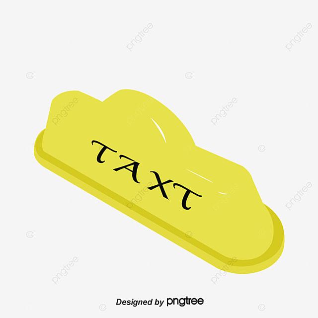 taxi mark alphabet anglais jaune toit de v u00e9hicule image