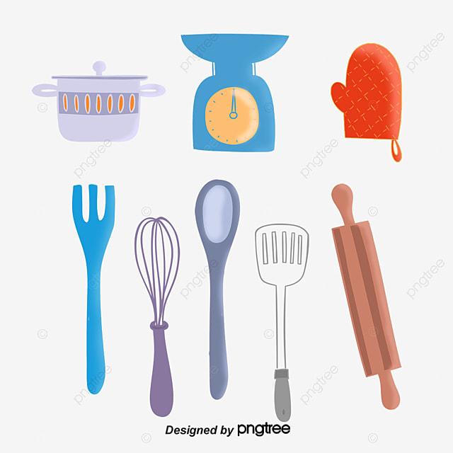 le vecteur des ustensiles de cuisine ustensiles de cuisine