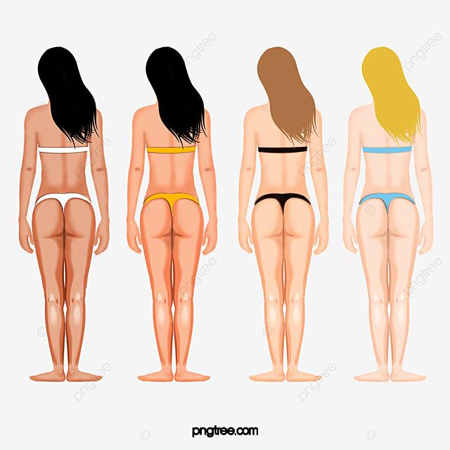 Скины девушки в бикини