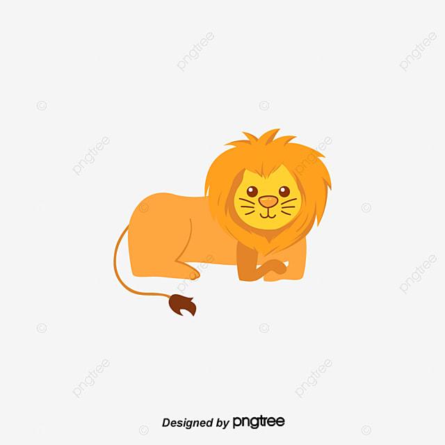 vector cartoon the lion king cats carnivores cartoon vector png