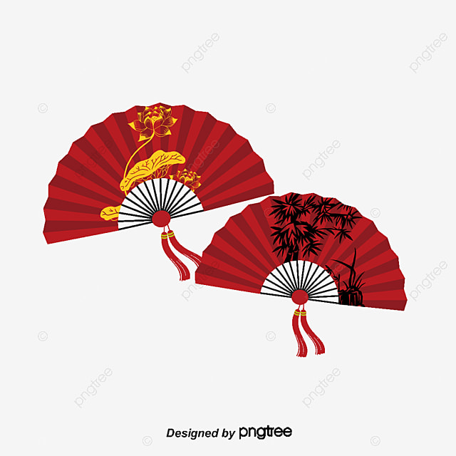vector chinese fan hd vector bloom png and vector for free download
