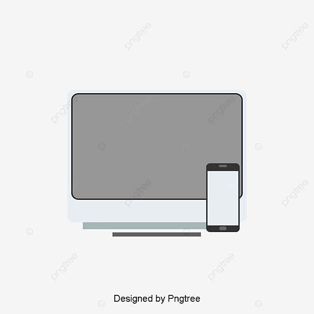 vector laptop computer and cell phone phone computer laptop png rh pngtree com laptop vector eps laptop vector back