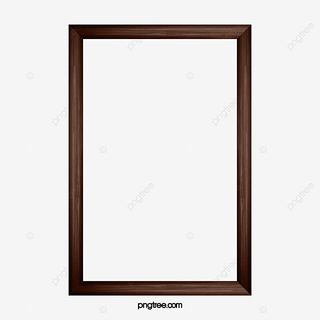 Brown Frame, Frame Clipart, Hand Painted, Brown PNG Image and ...