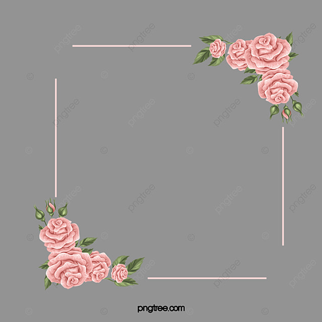 moldura de rosas rosa rosa cor de rosa moldura png imagem para download gratuito. Black Bedroom Furniture Sets. Home Design Ideas