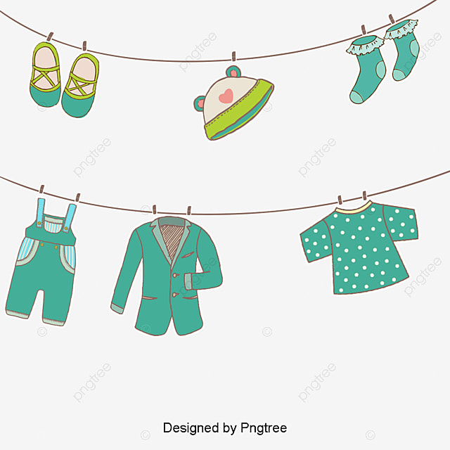Vector Hanging Clothes, Clothes Vector, Hd, Vector PNG and ...
