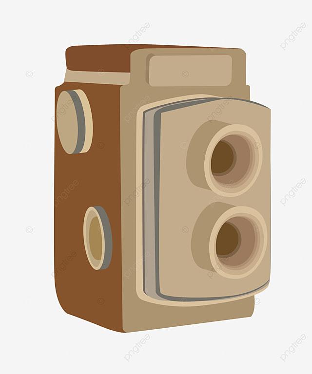 Camera Vintage Vector Free : Vintage camera vector material camera clipart camera retro png