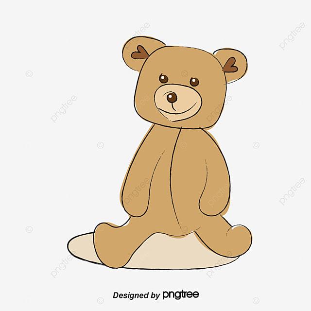 mignon petit ours brun gratuit png et clipart - Petit Nounours