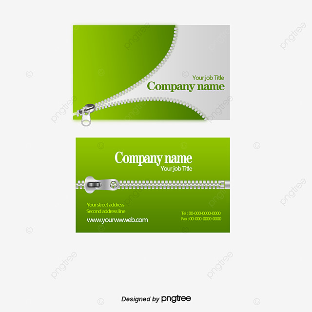 Zipper Pattern Business Card Design Business Cards Design Zipper