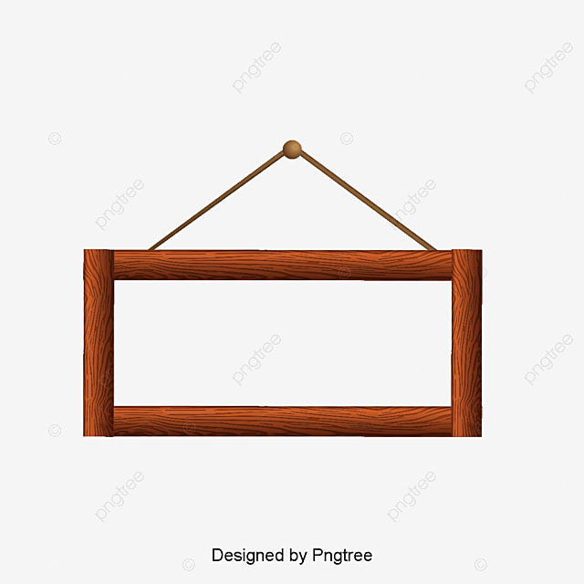 Simple vintage frame png
