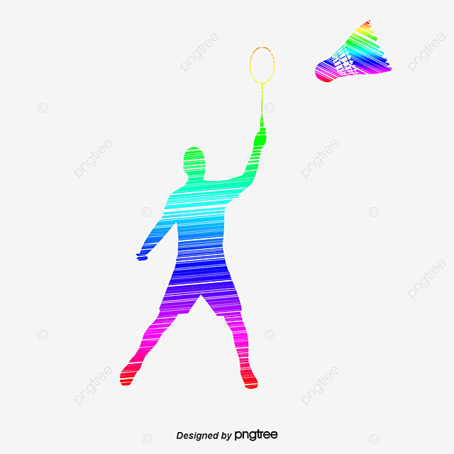 badminton graffiti volant de badminton raquette png et