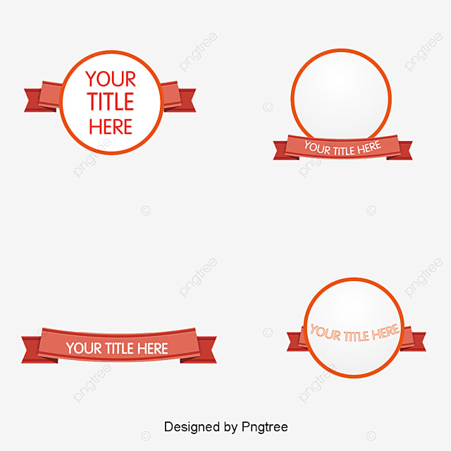 21 Download In Vector Eps Psd: Ribbon Banner Png, Vectors, PSD, And Clipart For Free
